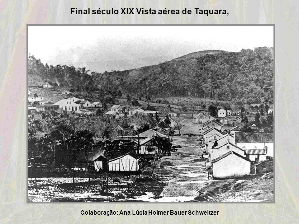 1903-Cartão Postal da Estrada de Ferro Novo Hamburgo – Taquara Colaboração: Oswaldino Machado de Bittencourt