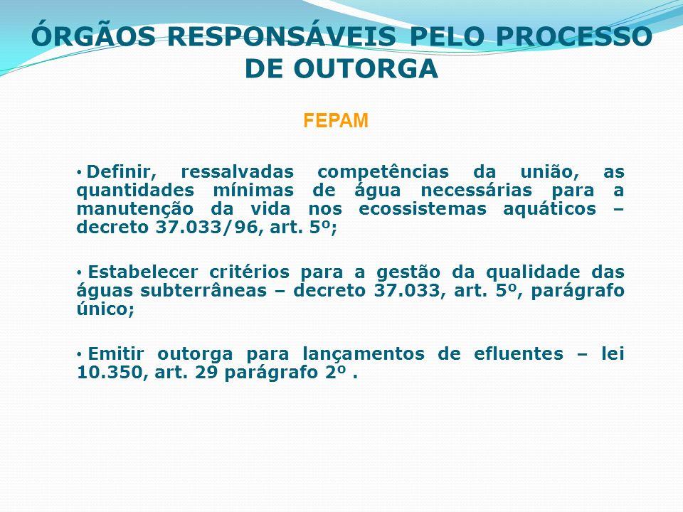 Critérios Bacia Hidrográfica do Rio Gravataí Estimativa de disponibilidade de água (IPH); Estimativa de disponibilidade de água (IPH); Todos os usuários solicitaram outorga conjuntamente; Todos os usuários solicitaram outorga conjuntamente; Foi calculado o balanço hídrico por sub-bacia considerando 90% da Q90; Foi calculado o balanço hídrico por sub-bacia considerando 90% da Q90; A outorga foi concedida com o consumo máximo de 10.000 m³/ha, com período máximo de 90 dias, com freqüência de 7 dias por semana e 24 horas por dia.