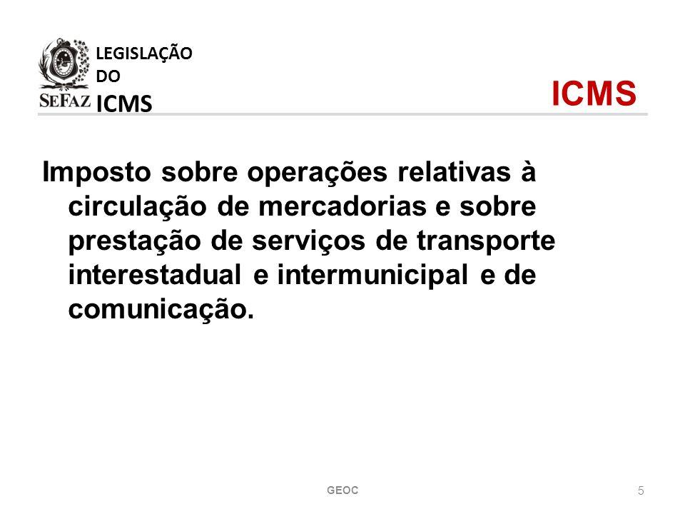 5 Imposto sobre operações relativas à circulação de mercadorias e sobre prestação de serviços de transporte interestadual e intermunicipal e de comunicação.