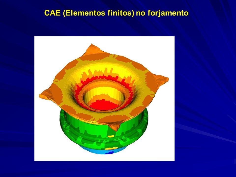 CAE (Elementos finitos) no forjamento