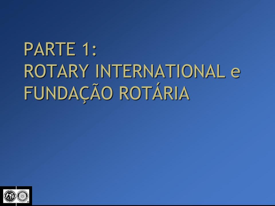 PARTE 1: ROTARY INTERNATIONAL e FUNDAÇÃO ROTÁRIA
