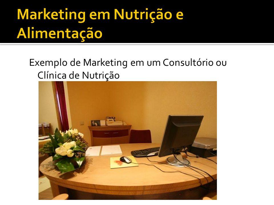 Exemplo de Marketing em um Consultório ou Clínica de Nutrição