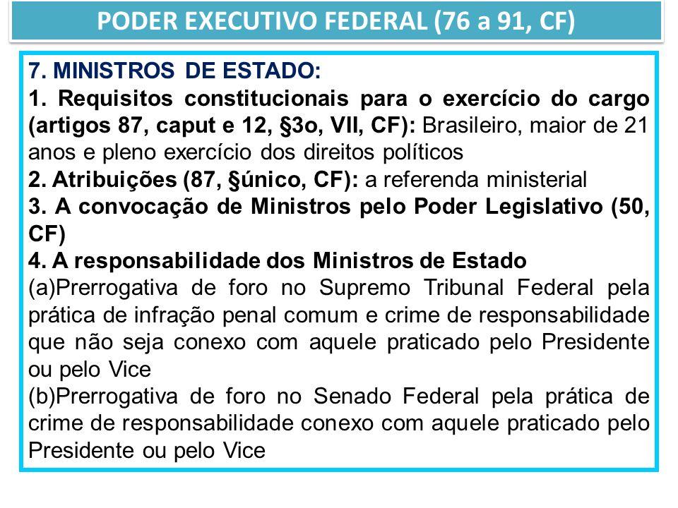 7.MINISTROS DE ESTADO: 1.