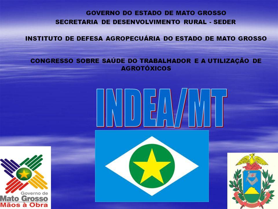 ORGÃOS DE ADMINISTRAÇÃO REGIONALIZADA INDEA/MT- ESTRUTURA ORGANIZACIONAL