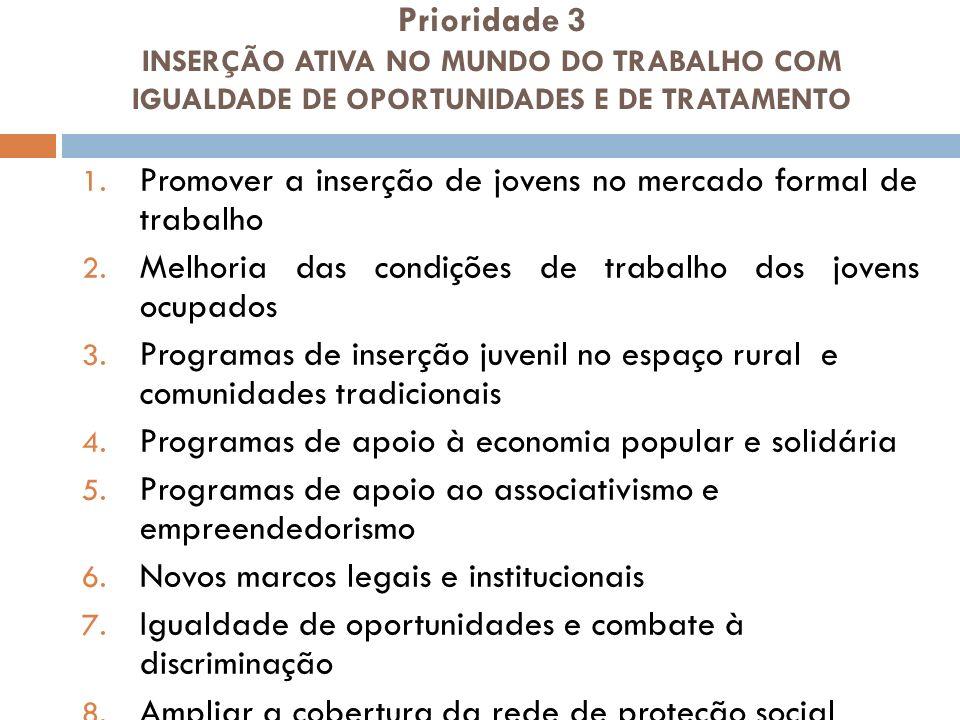 Prioridade 4 DIÁLOGO SOCIAL 1.