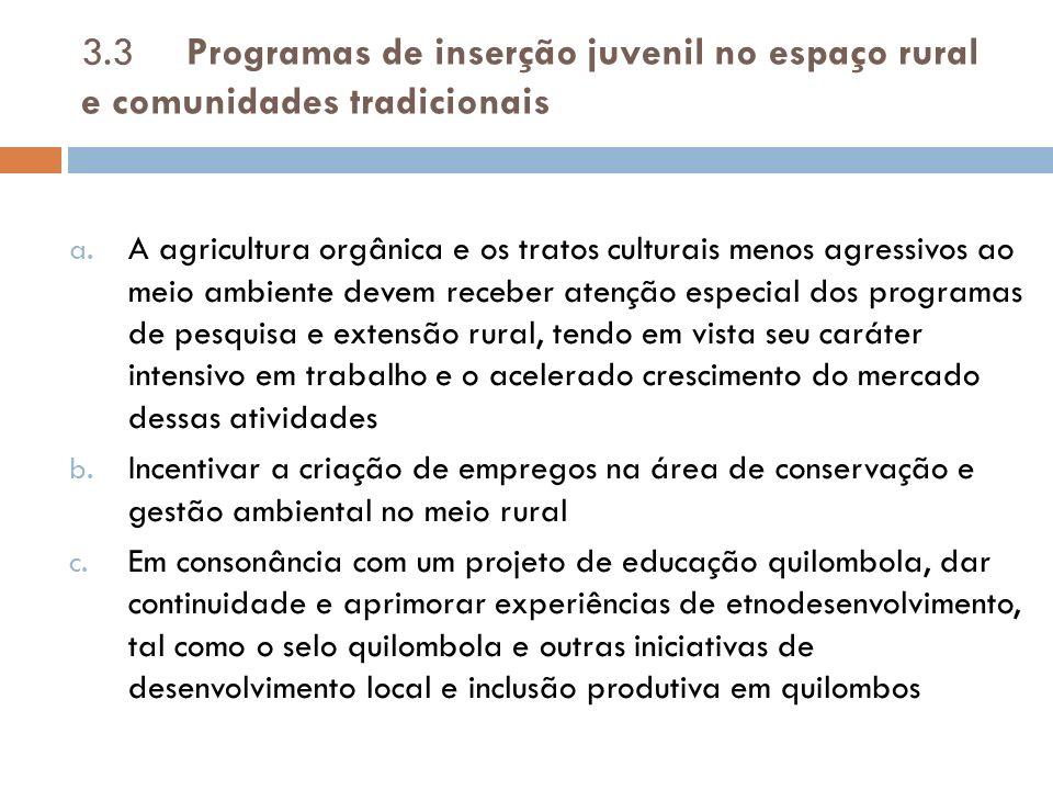 3.4.Programas de apoio à economia popular e solidária a.