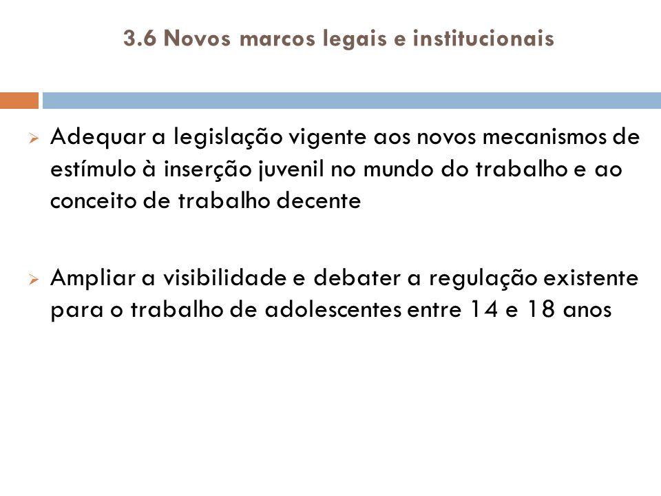 3.7Igualdade de oportunidades e combate à discriminação a.