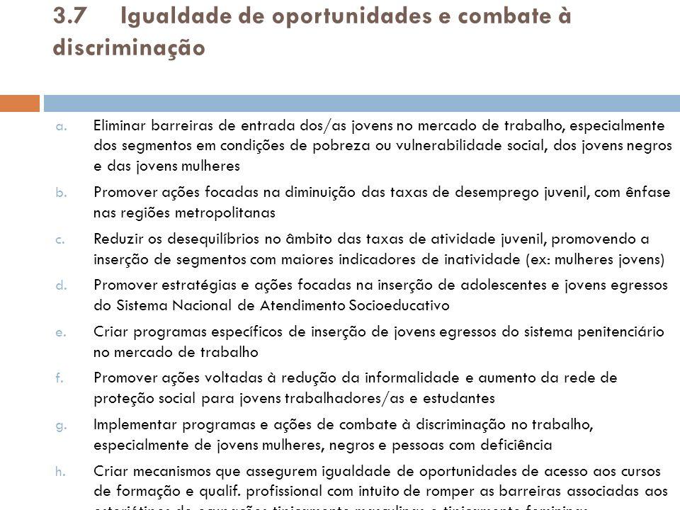 3.7Ampliar a cobertura da rede de proteção social a.