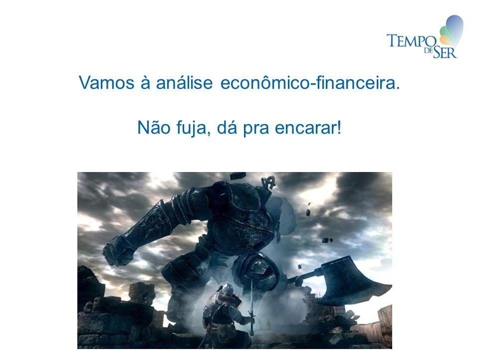 Vamos à análise econômico-financeira. Não fuja, dá pra encarar!