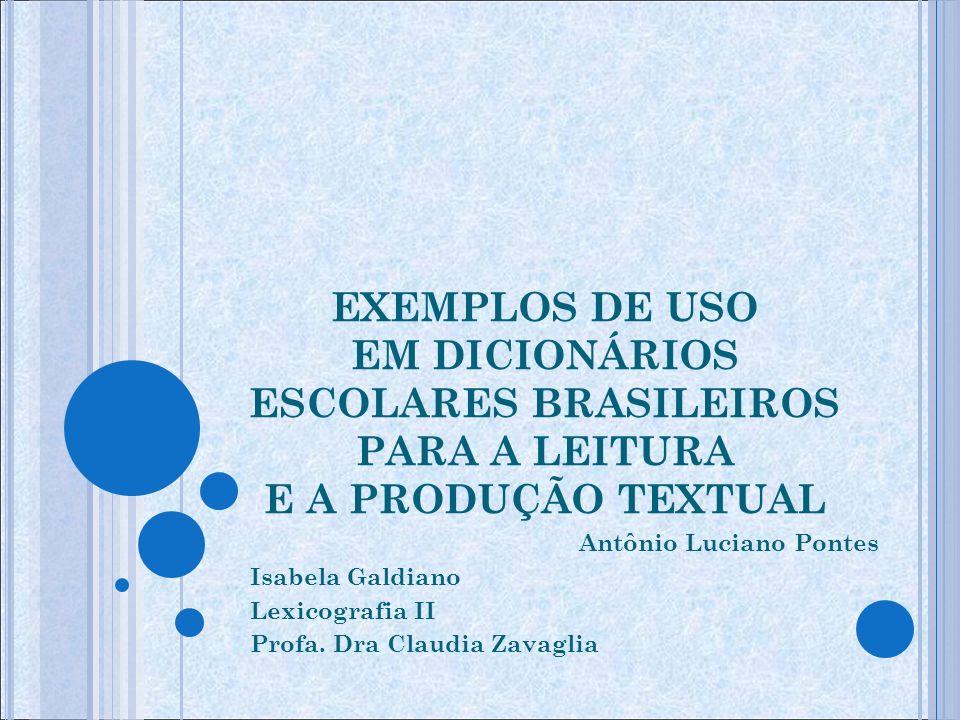 INTRODUÇÃO o dicionário, como tecnologia, descreve e instrumentaliza uma língua e, ainda hoje, é considerado um dos pilares de nosso saber metalinguístico.