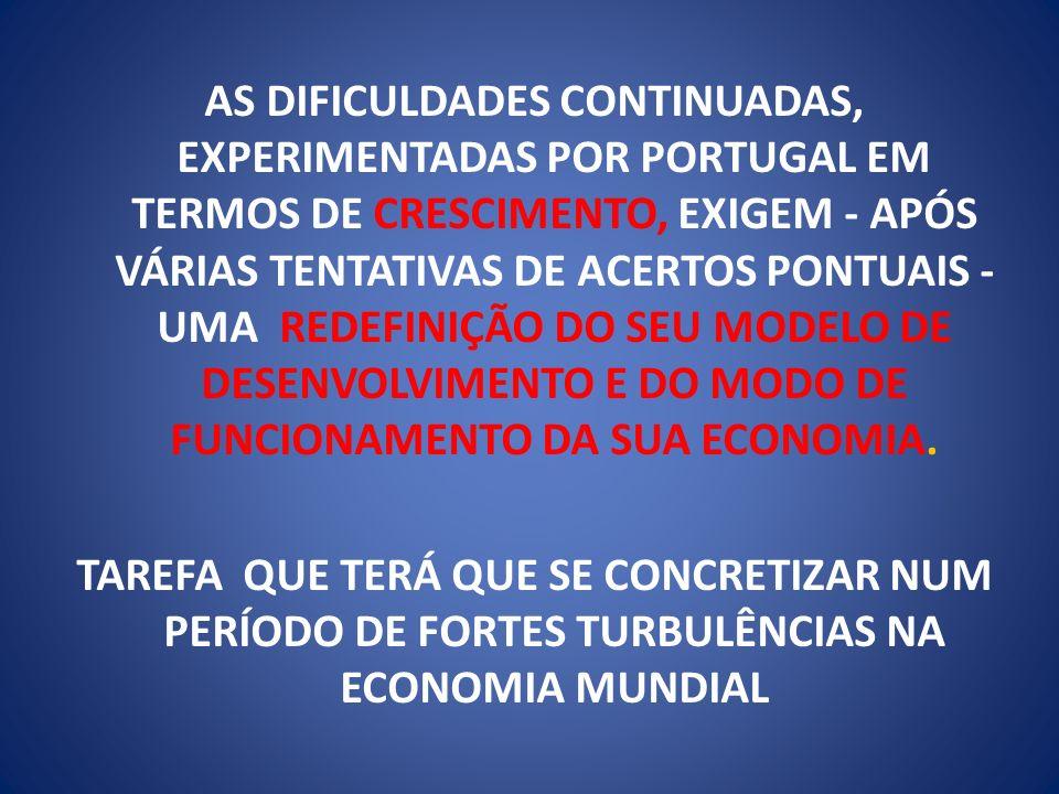 CONSTRUÇÃO DO NOVO AEROPORTO INTERNACIONAL DE LISBOA EM ALCOCHETE COM CONDIÇÕES OPERACIONAIS ADEQUADAS AO DESENVOLVIMENTO DOS SEGMENTOS DE NEGÓCIOS ESTRATÉGICOS DE PASSAGEIROS E CARGA DEVENDO FUNCIONAR COMO PLATAFORMA DE TRÂNSITO DE UMA DAS ALIANÇAS MUNDIAIS DE AVIAÇÃO CIVIL OU DE UM GRANDE OPERADOR GLOBAL; INFRA ESTRUTURAS PARA A COMPETITIVIDADE FUTURA