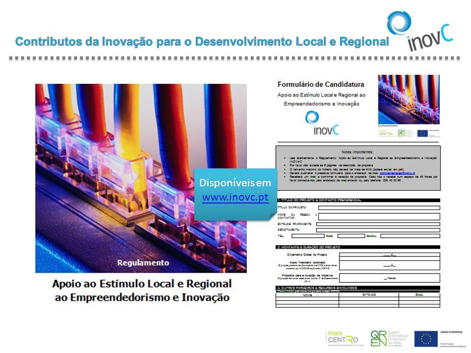Disponíveis em www.inovc.pt www.inovc.pt Disponíveis em www.inovc.pt www.inovc.pt