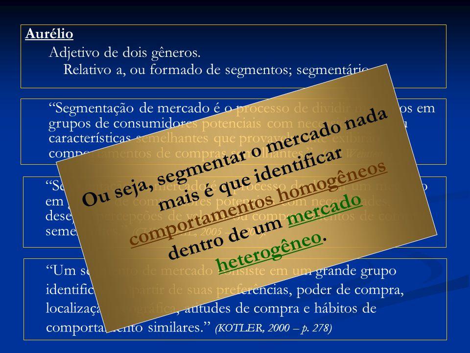 Aurélio Adjetivo de dois gêneros.Relativo a, ou formado de segmentos; segmentário.