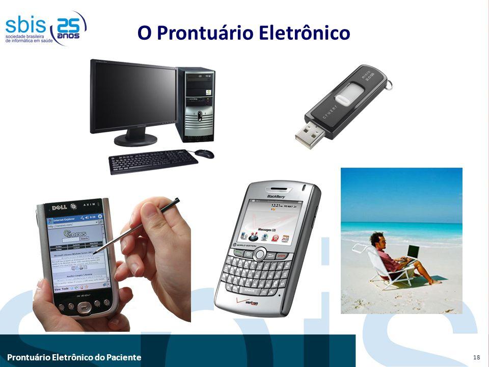 Prontuário Eletrônico do Paciente O Prontuário Eletrônico 18