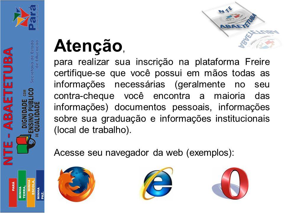 Digite o endereço http://freire.mec.gov.br/index-static