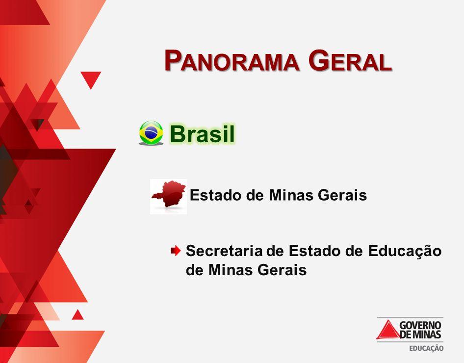 Secretaria de Estado de Educação de Minas Gerais Estado de Minas Gerais P ANORAMA G ERAL