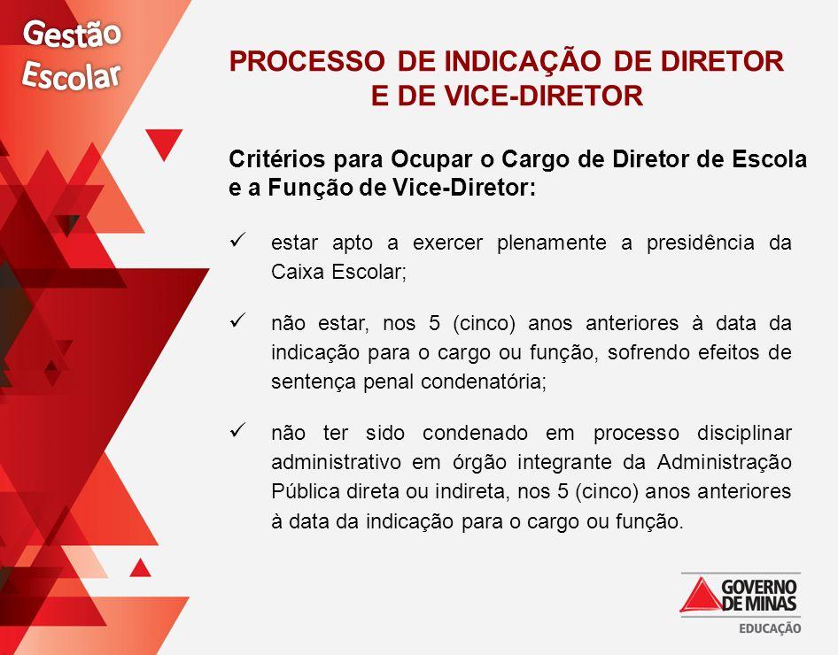 Os critérios e as condições para participar do processo de certificação ocupacional são estabelecidos em Edital da Secretaria de Estado de Educação de Minas Gerais (SEE).