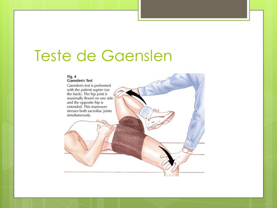 Teste de Gaenslen