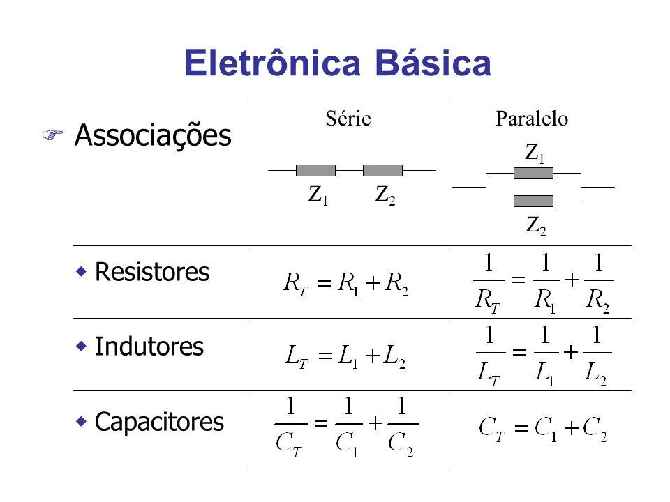 Características Estáticas F Resolução F Limiar V(v) 2468 1 2 3 Res=2 rad V(v) 10