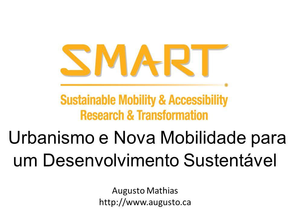 Urbanismo e Nova Mobilidade para um Desenvolvimento Sustentável Augusto Mathias http://www.augusto.ca