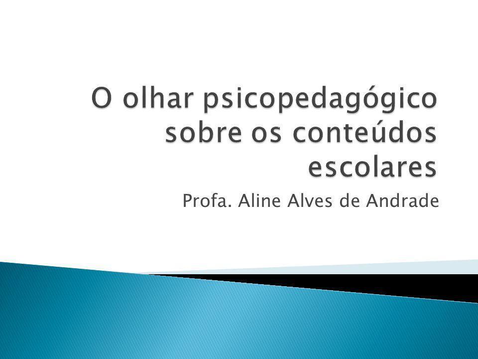 Profa. Aline Alves de Andrade
