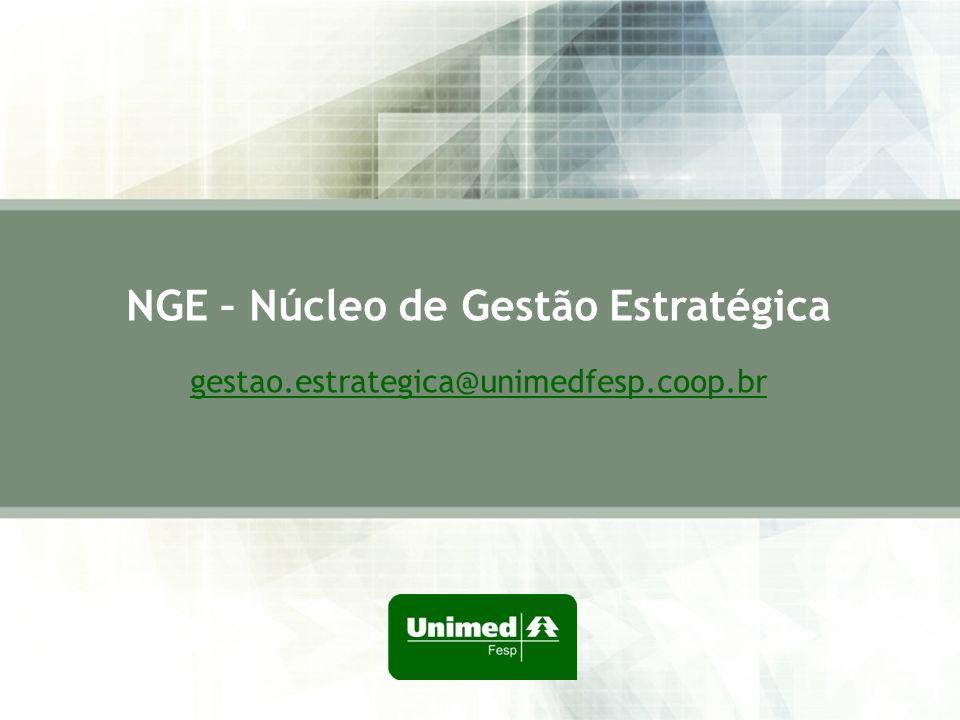 NGE – Núcleo de Gestão Estratégica gestao.estrategica@unimedfesp.coop.br