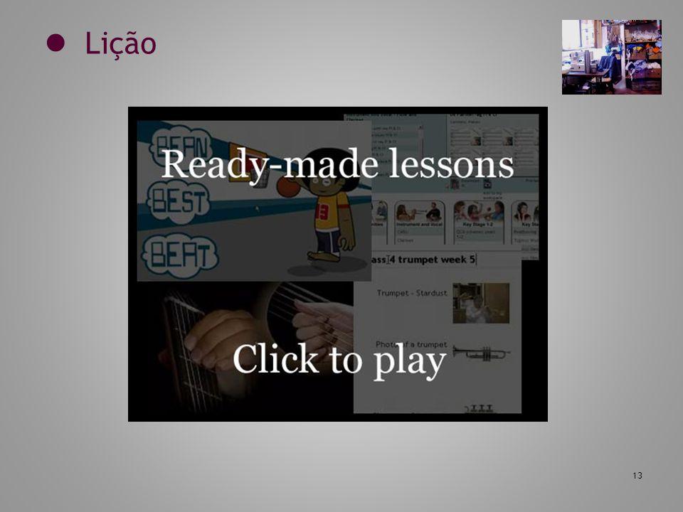 13 Lição