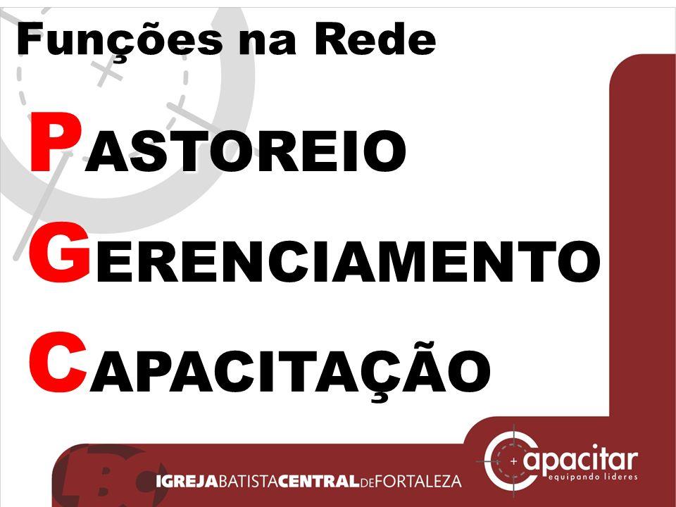 Funções na Rede P ASTOREIO G ERENCIAMENTO C APACITAÇÃO