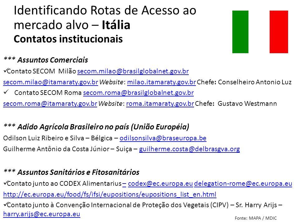 *** Assuntos Comerciais Contato SECOM Milão secom.milao@brasilglobalnet.gov.brsecom.milao@brasilglobalnet.gov.br secom.milao@itamaraty.gov.brsecom.mil