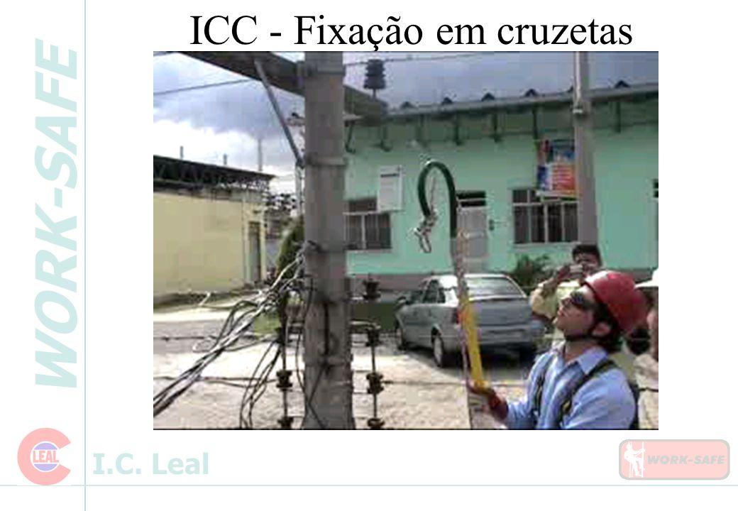 WORK-SAFE I.C. Leal ICC - Fixação em cruzetas