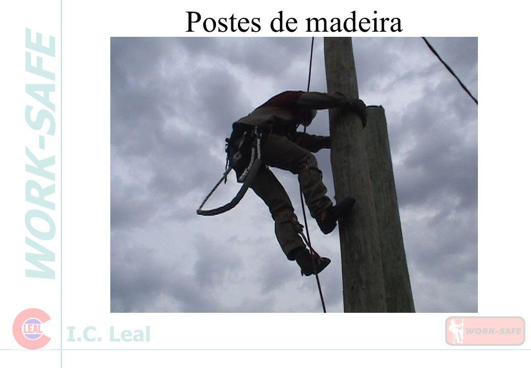 WORK-SAFE I.C. Leal Postes de madeira