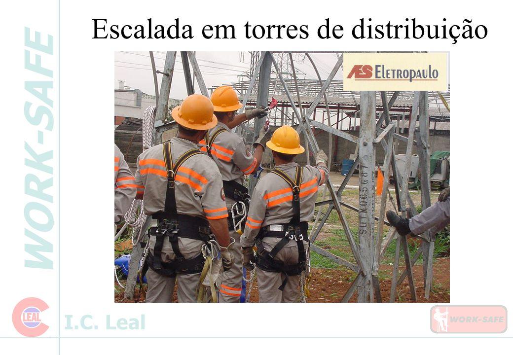 WORK-SAFE I.C. Leal Escalada em torres de distribuição