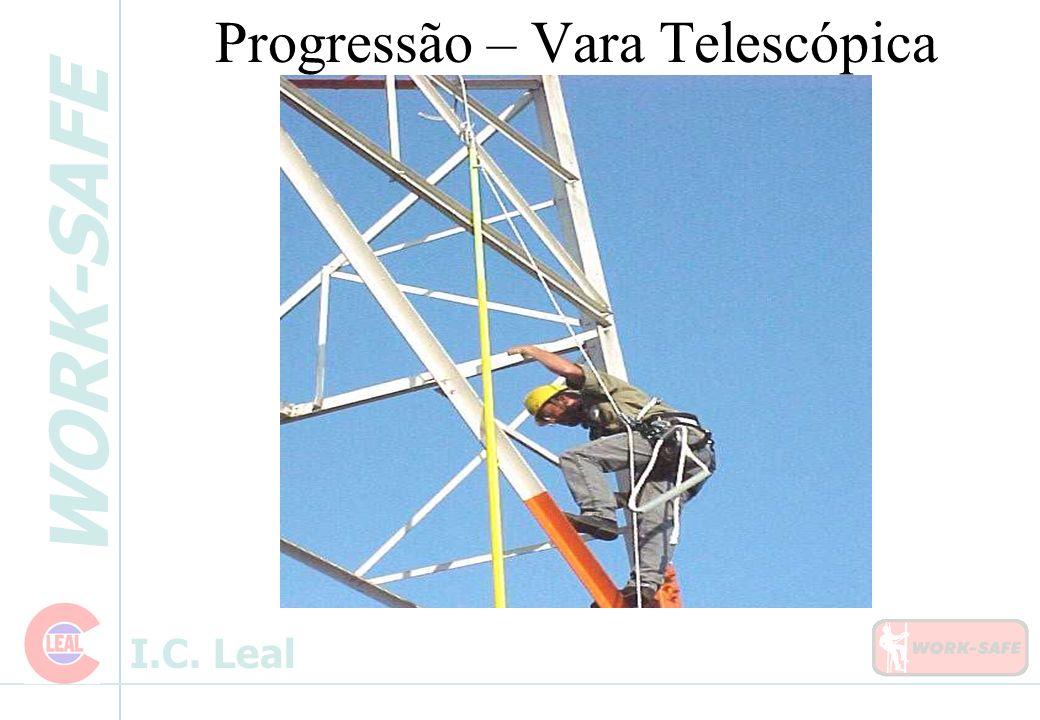 WORK-SAFE I.C. Leal Progressão – Vara Telescópica