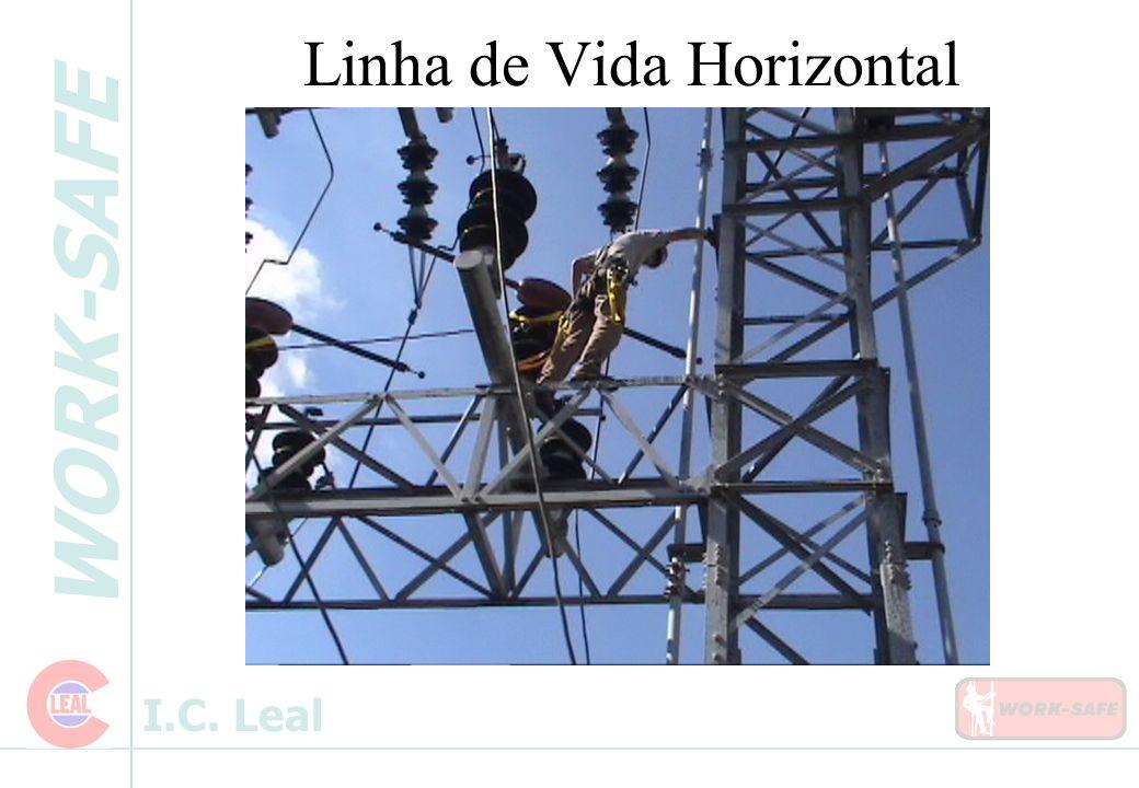 WORK-SAFE I.C. Leal Linha de Vida Horizontal