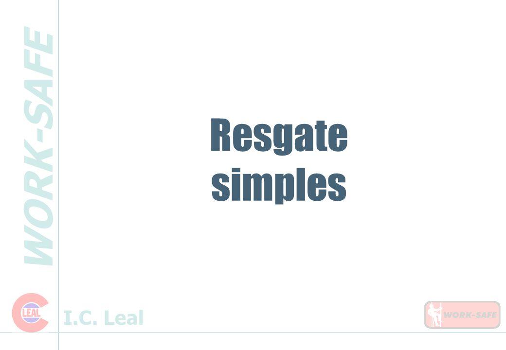 WORK-SAFE I.C. Leal Resgate simples