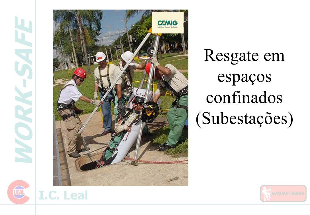 WORK-SAFE I.C. Leal Resgate em espaços confinados (Subestações)