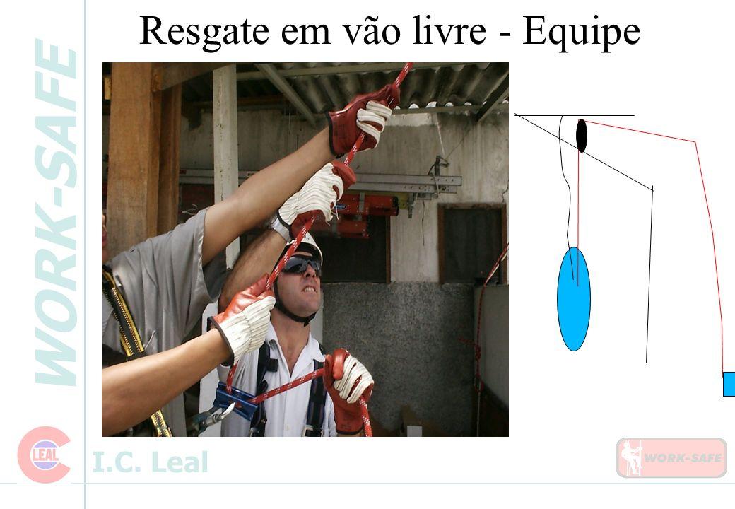 WORK-SAFE I.C. Leal Resgate em vão livre - Equipe