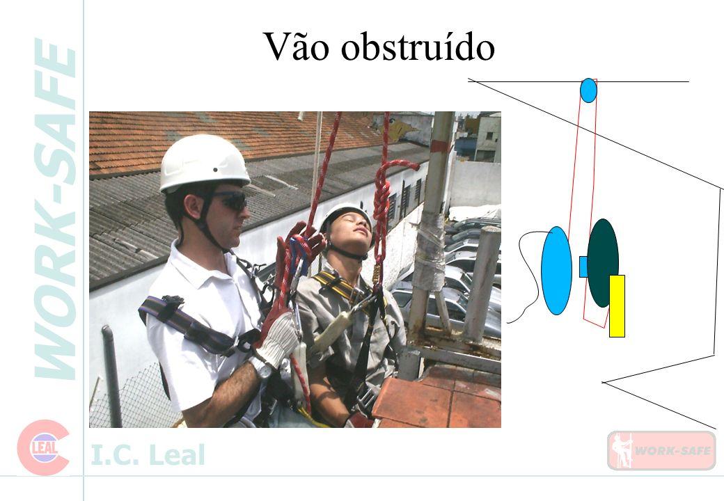 WORK-SAFE I.C. Leal Vão obstruído