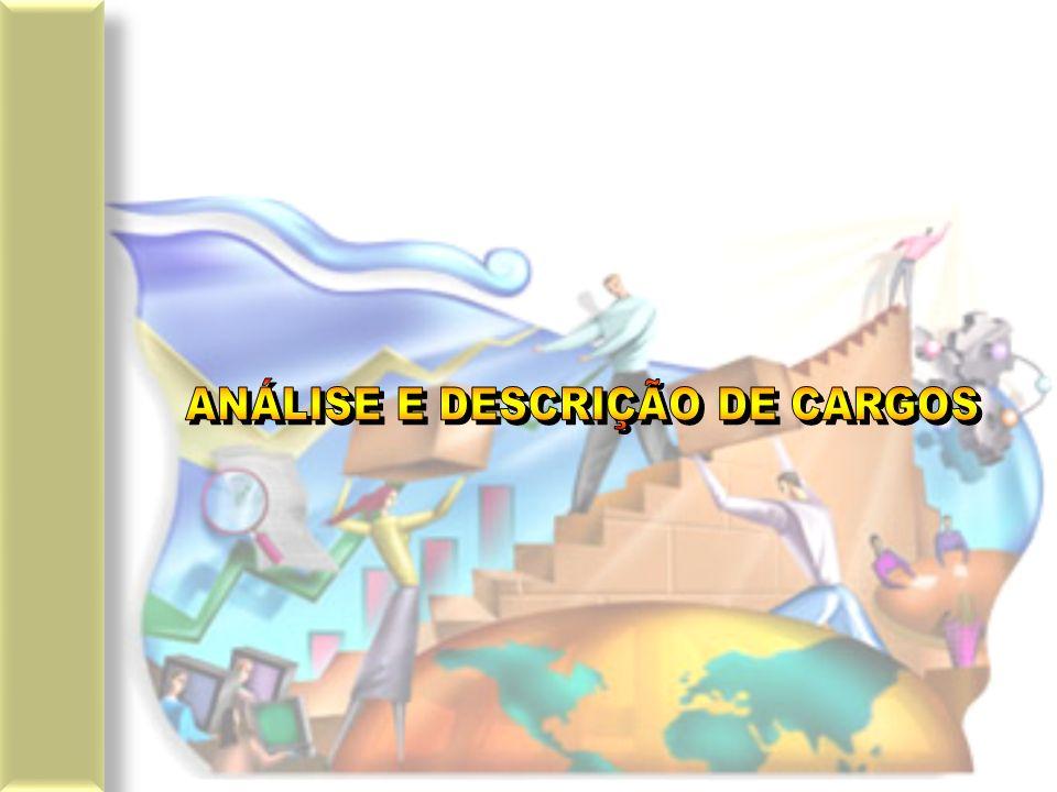 DESCRIÇÃO DE CARGOS DEVE-SE DESCREVER AS TAREFAS EM ORDEM DE IMPORTÂNCIA OU CRONOLÓGICA; PODE-SE DESCREVER UM CARGO DE FORMA DETALHADA OU SUMÁRIA; DESCREVER SUMARIAMENTE SIGNIFICA RESUMIR O CONTEÚDO DO CARGO DE FORMA QUE SEJA COMPREENDIDO; ESPECIFICAR UM CARGO É RELATAR OS REQUISITOS, RESPONSABILIDADES, E ESFORÇOS EXIGIDOS PELO CARGO.