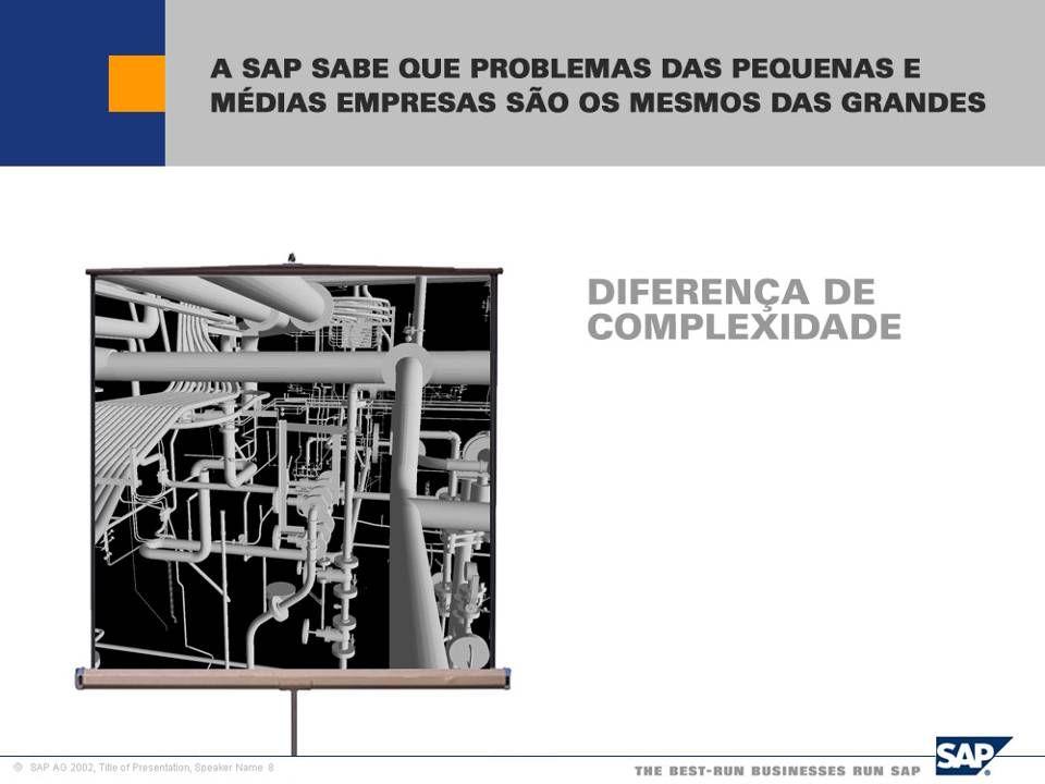 SAP Brazil – SMB Team Diferenças