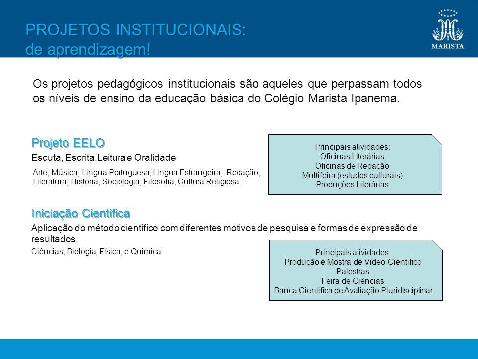 Projeto EELO Escuta, Escrita,Leitura e Oralidade Iniciação Cientifica Aplicação do método cientifico com diferentes motivos de pesquisa e formas de ex