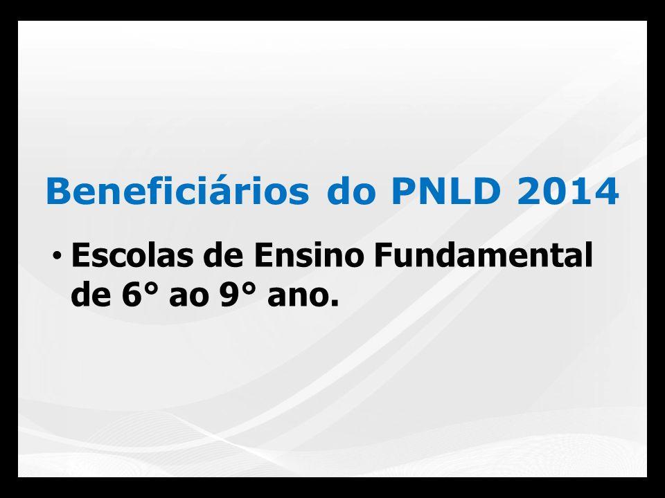 www.fnde.gov.br Clicar em SIMAD: Link: Escolha PNLD 2014 Escolha via internet