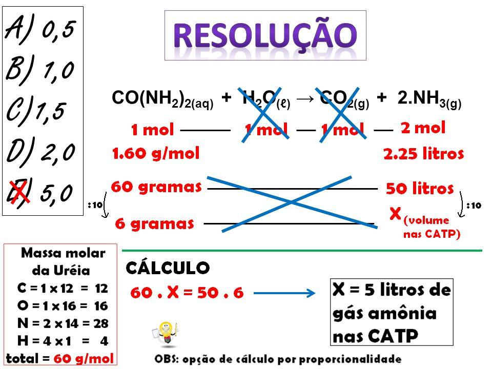 (USP – SP – 2010) – Universidade de São Paulo Sob condições adequadas, selênio (Se) e estanho (Sn) podem reagir, como representado pela equação: 2.Se + Sn SnSe 2 Em um experimento, deseja-se que haja reação completa, isto é, que os dois reagentes sejam totalmente consumidos.