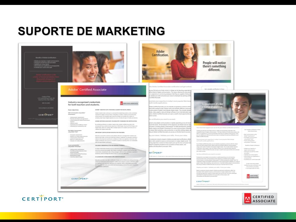 SUPORTE DE MARKETING