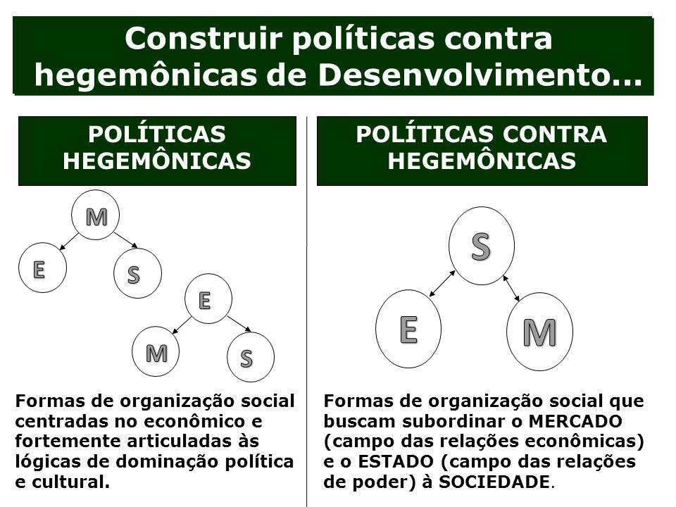 Construir políticas contra hegemônicas de Desenvolvimento...