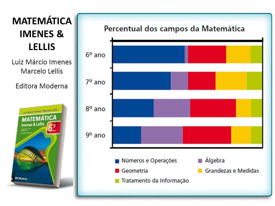 MATEMÁTICA IMENES & LELLIS Luiz Márcio Imenes Marcelo Lellis Editora Moderna