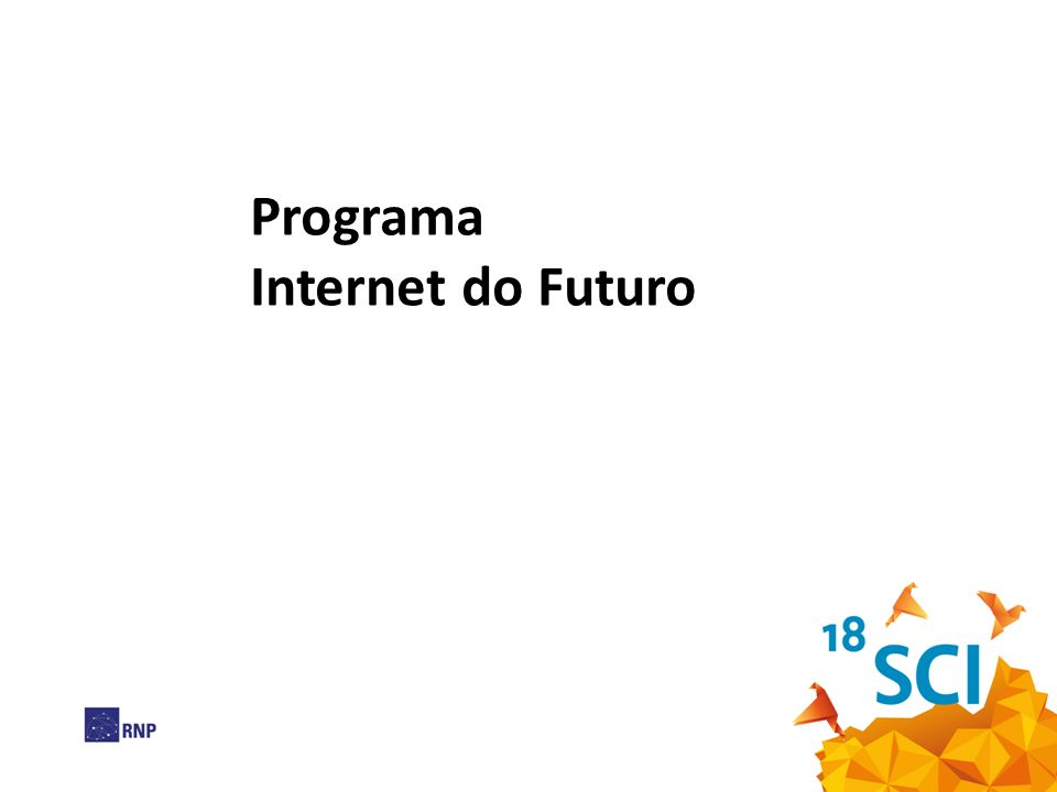 Programa Internet do Futuro