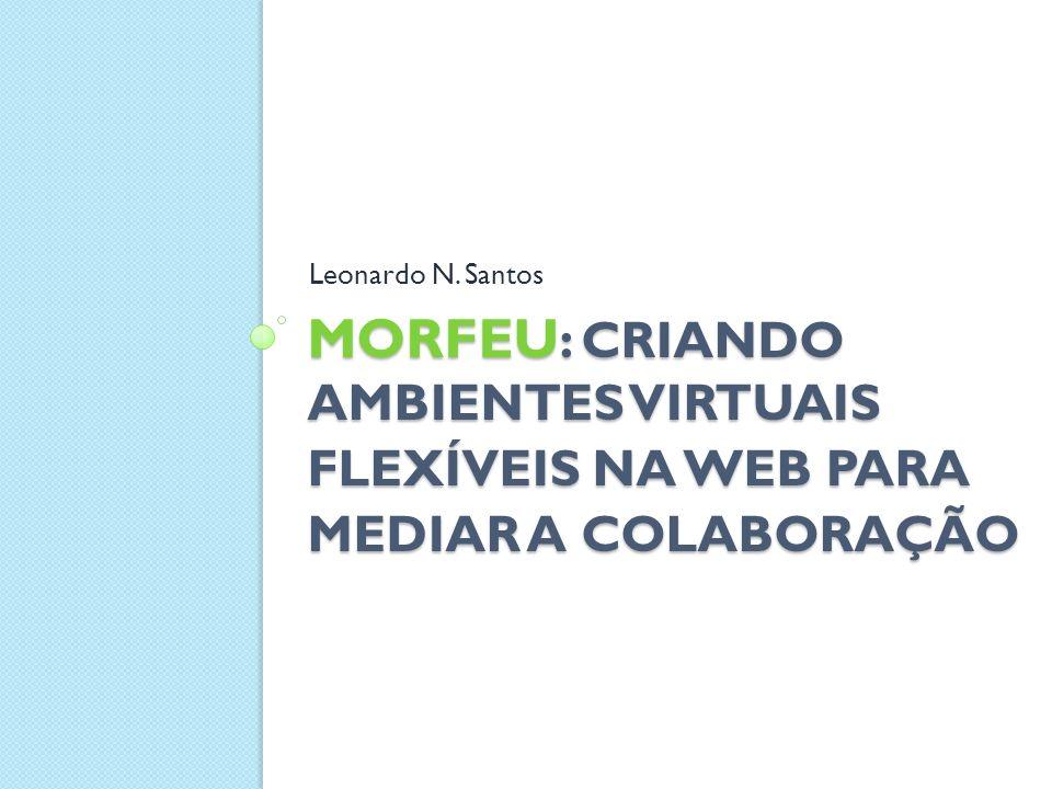 2011 Roteiro Introdução Inovação em ambientes para mediar a colaboração O Ambiente MOrFEu Veículos de Comunicação Considerações Finais 2