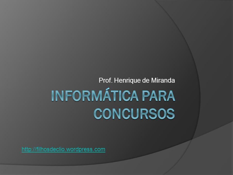 Prof. Henrique de Miranda http://filhosdeclio.wordpress.com