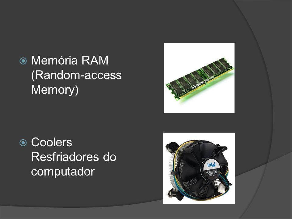 Memória RAM (Random-access Memory) Coolers Resfriadores do computador
